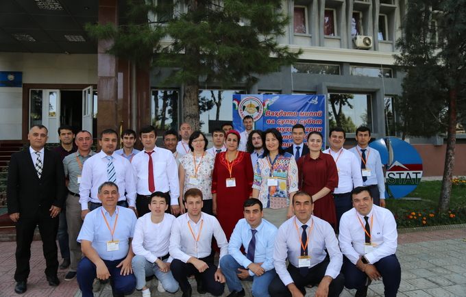 UNFPA Tajikistan supports joint 10-days regional training on CSPro